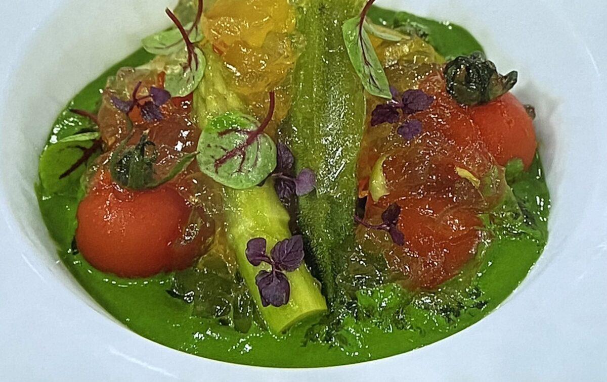 夏野菜サラダ 煮こごり あさイチ