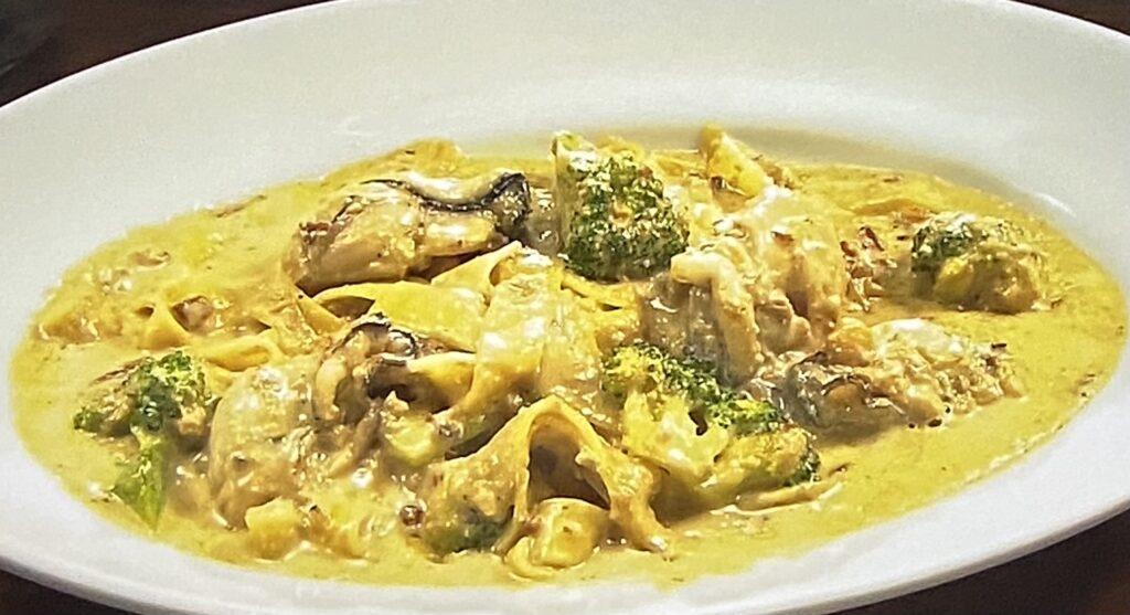 牡蠣クリームパスタ イタリアンバールダーリ せっかくグルメ