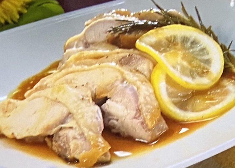 鶏もも肉のポットロースト ヒルナンデス
