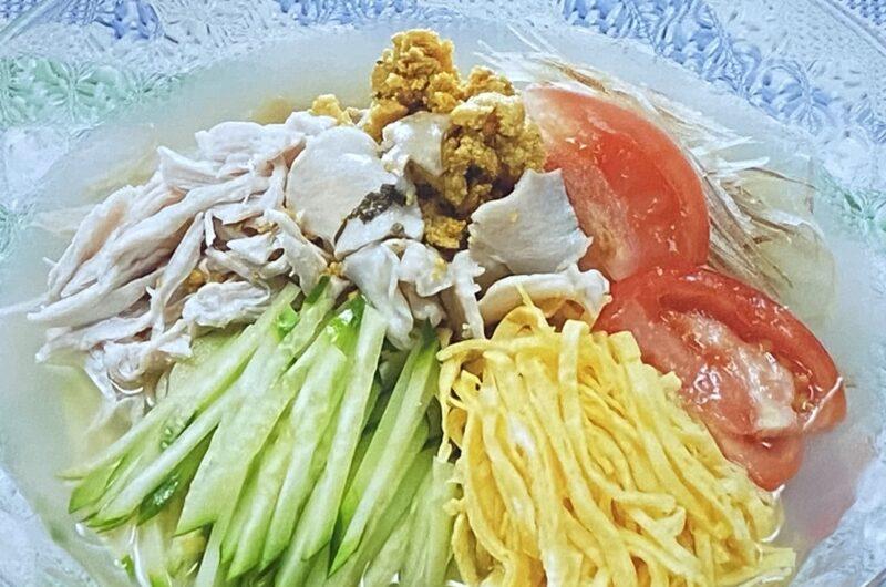 【相葉マナブ】いちご煮の冷やし中華の作り方 海の幸博レシピ(8月22日)