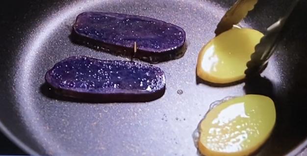 ジャガイモ焼き目