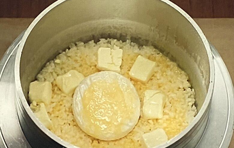メープルチーズ釜飯 相葉マナブ