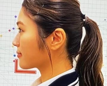 渋谷凪咲さん(NMB48)相貌心理学あご