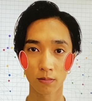 田中樹さん(SixTONES)相貌心理学ほほ骨
