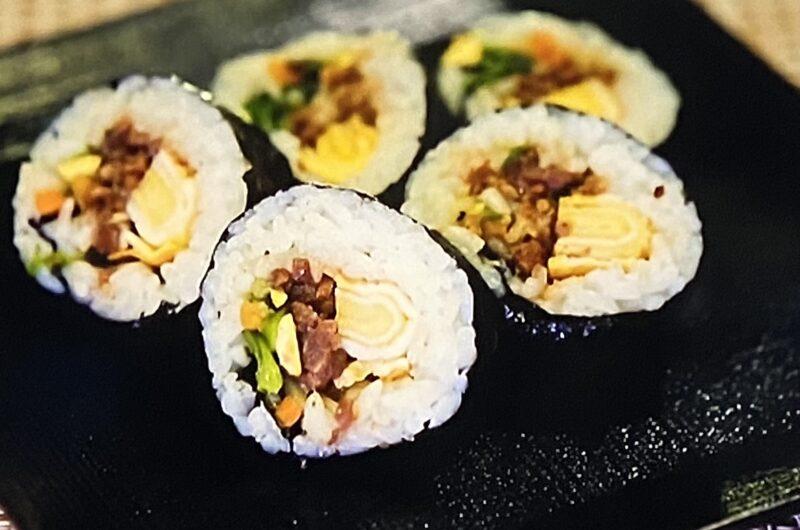 【ヒルナンデス】韓国風海苔巻きキンパの作り方 コストコアレンジレシピ(8月16日)