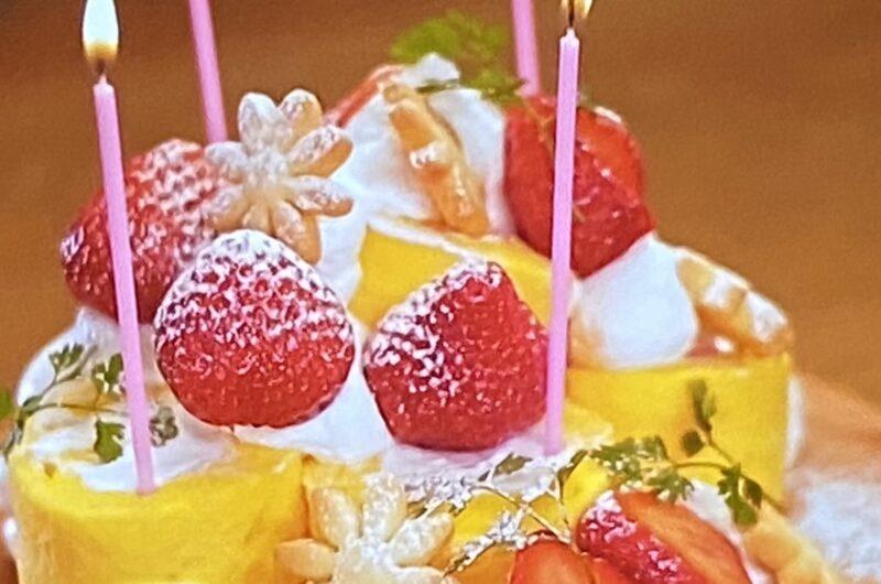 【ウワサのお客さま】いちごのロールケーキタワーの作り方 スーパーオーケーOKアレンジレシピ (9月3日)