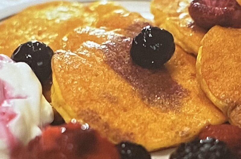 【土曜は何する】オートミールパンケーキの作り方 オートミールレシピ(9月4日)