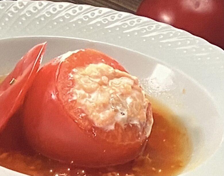 トマトのファルシー ヒルナンデス