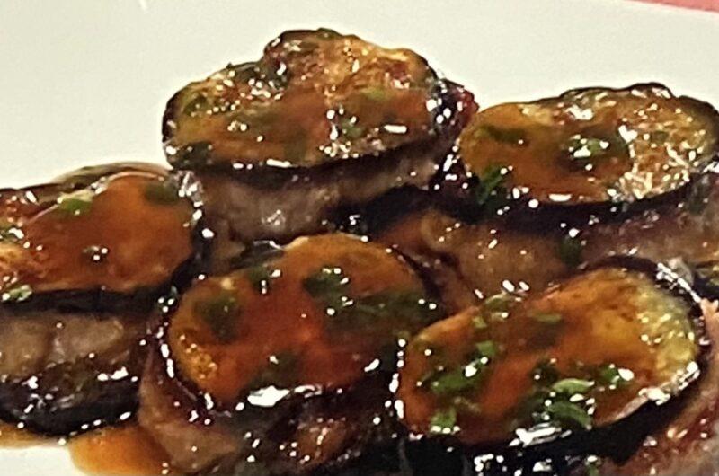【ヒルナンデス】ナスのひき肉はさみ焼きの作り方 ナスの調理法 簗田シェフレシピ(9月15日)