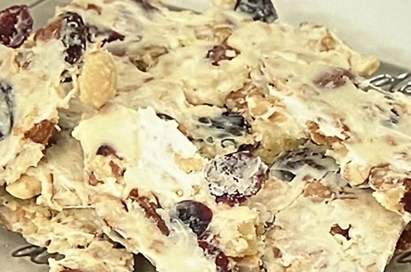 【平野レミの早わざレシピ】ナッツチョコせんべの作り方 2021秋(9月23日)