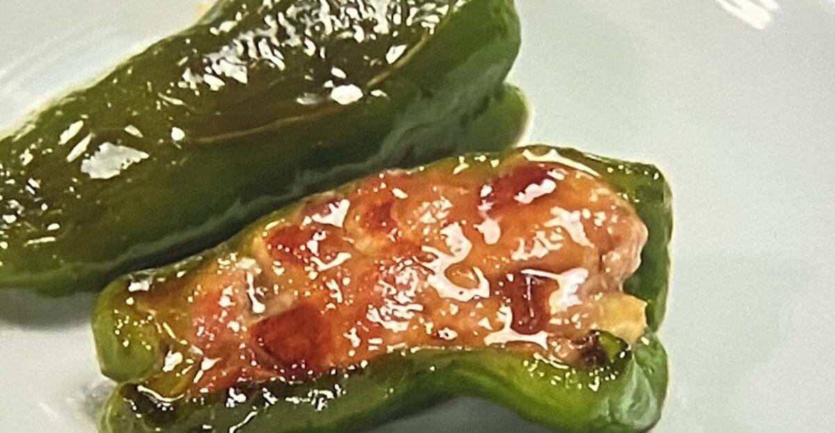 ピーマンの肉詰め ヒルナンデス