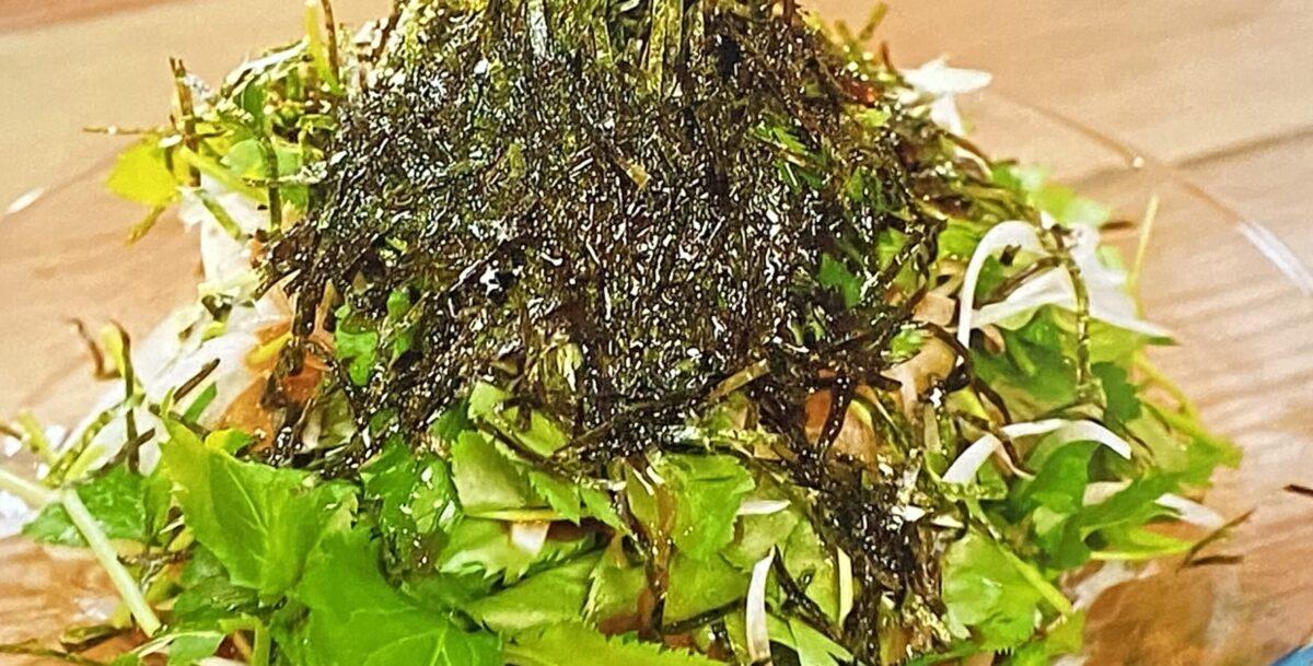 ミツバと玉ねぎのサラダ 和田明日香