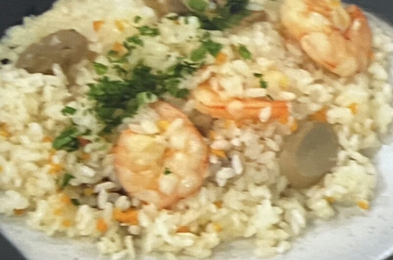 【あさイチ】えびピラフの作り方 グッチ裕三さんほとんどレストランのレシピ(9月8日)