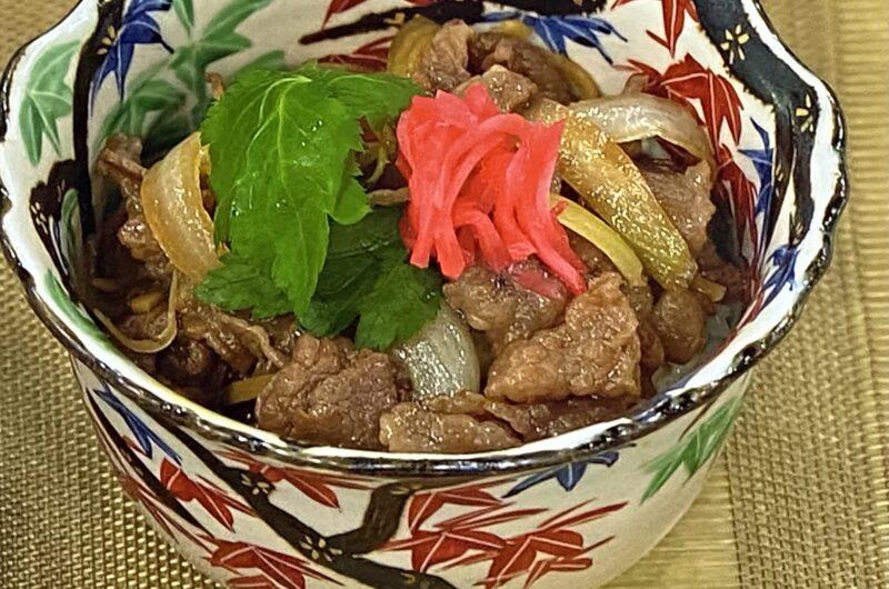 【あさイチ】しぐれ煮牛丼の作り方 「和敬」竹村竜二さんのレシピ(9月15日)