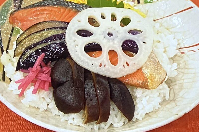 【あさイチ】秋のちらし寿司(れんこんシャキシャキ)の作り方 夏梅美智子さんのレシピ(9月29日)