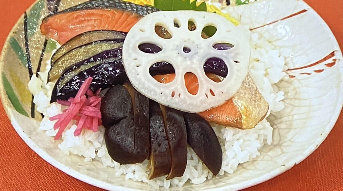 秋のちらし寿司 あさイチ