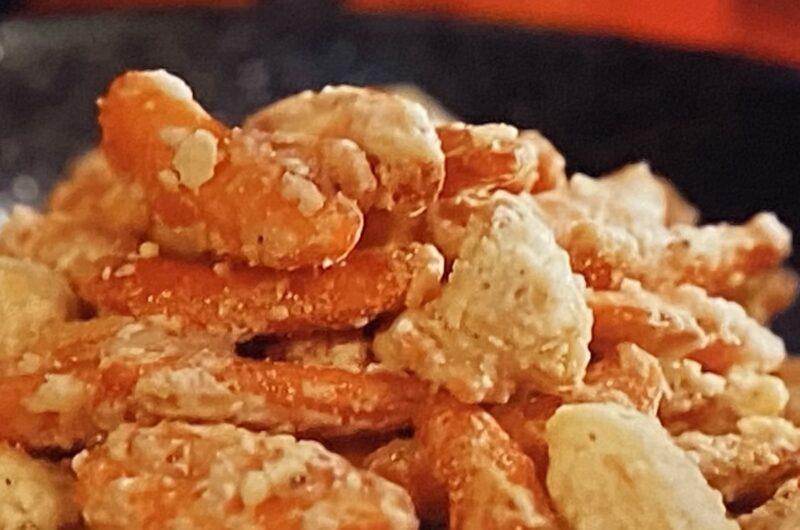 【ラヴィット】花の種(柿の種アレンジ)の作り方 せんべい&おかきアレンジレシピ(9月15日)