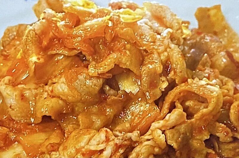 【家事ヤロウ】豚キムチの作り方 上白石萌音さんレシピ(9月21日)