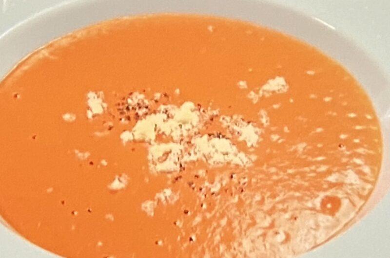 【ヒルナンデス】赤ピーマンの冷製ポタージュの作り方 ピーマンVSトマト渥美まゆ美さんのレシピ 調理法(9月8日)