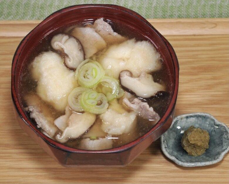 里芋のもちもち団子汁 平野レミ