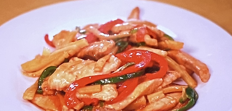 鮭の青椒肉絲 ZIP