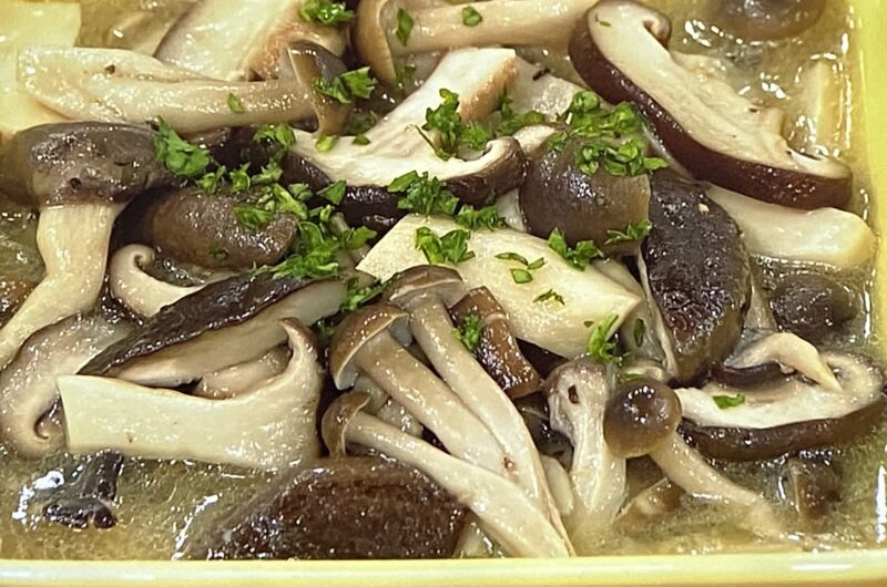 【あさイチ】きのこのマリネの作り方 江上栄子さんのレシピ(10月4日)