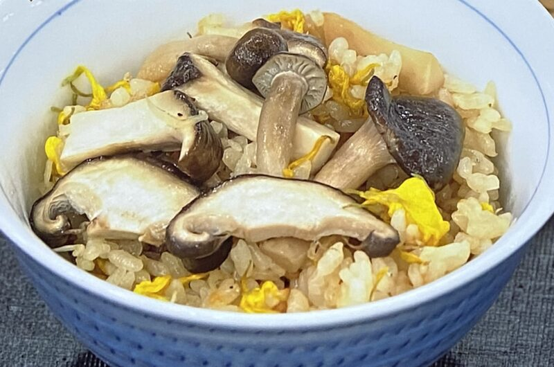 【あさイチ】じゃこ入りきのこご飯の作り方 江上栄子さんのレシピ(10月4日)