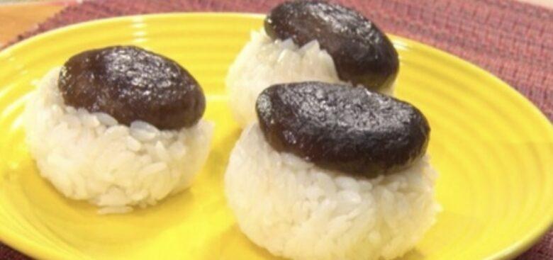 椎茸寿司 ヒルナンデス