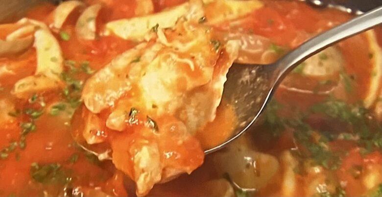 鶏肉と野菜のトマト煮 ヒルナンデス